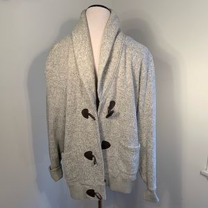 Tommy Hilfiger Athluxe Gray Toggle Sweater XXL